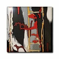 "An abstract painting in a bedroom of musical things - 12 Inch Ceramic Tile by 3dRose. $22.99. Construction grade. Floor installation not recommended.. Clean with mild detergent. Dimensions: 12"" H x 12"" W x 1/4"" D. Image applied to the top surface. High gloss finish. An abstract painting in a bedroom of musical things Tile is great for a backsplash, countertop or as an accent. This commercial quality construction grade tile has a high gloss finish. The image is applied to th..."