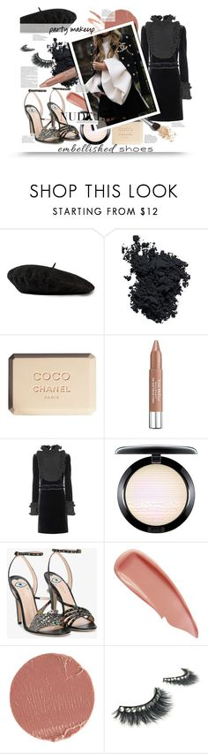 """Untitled #1238"" by sugarmoonmama ❤ liked on Polyvore featuring Gucci, Christian Dior, Chanel, Trish McEvoy, MAC Cosmetics, Sisley and Estée Lauder"