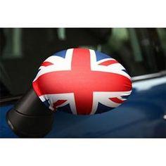 Fabric Mirror Covers - Union Jack