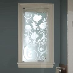 Design For Today: Etching glass for a custom look.