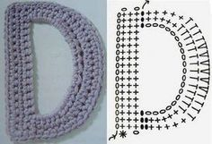 Crochet Basics, Crochet Stitches, Crochet Alphabet Letters, Step By Step Crochet, Monogram Initials, Crochet Accessories, Couture, Free Crochet, Free Pattern