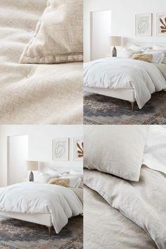 Room Ideas Bedroom, Bedroom Inspo, Bedroom Decor, Linen Sheets, Bed Linen Sets, Ikea, Cozy Room, Bed Linens, Future House
