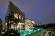 Частный дом Сингапур