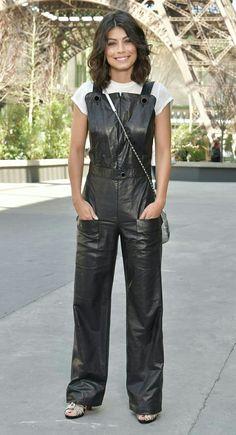 Alessandra-Mastronardi leather overalls