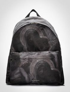 Givenchy SS13 gospel backpack . Holy darkness.