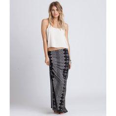 Billabong Alone With You Maxi Skirt $44 #skirt #maxi #billabong #boho #fashion #style #boutique @billabong