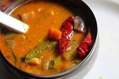 Sambhar Recipe, Dal Recipe, Tomato Chutney, Chutney Recipes, Coriander Seeds, Curry Leaves, Desi, Veggies, Healthy Eating