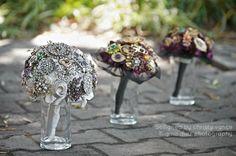 #Brooch #Bouquet #Bride #Bridesmaid #vintage #brooch #bouquet #lovely #pretty #bling #wedding #beautiful #ginadiaz @Christy Vance-Schual  #redlands #california #photographer
