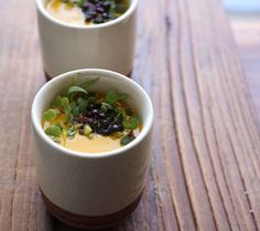 Carrot and Pistachio Soup with Tarragon