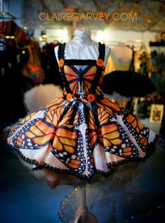 Butterfly dress from Etsy!  http://www.etsy.com/listing/91708463/butterfly-dress