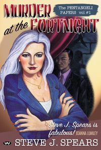 """Murder at the Fortnight. When celebs start dropping like flies at The Playwright's Fortnight, Lady Showbiz Detective Stella Pentangeli and Investigator Ng must battle media hysteria and political backstabbing in their desperate search for a killer who keeps on killing.   Steve J. Spears is the author of the hugely successful Pentangeli Papers crime series, which have """"everything you want from a crime fiction."""" - The Age  http://www.wakefieldpress.com.au/product.php?productid=522=13=3"""