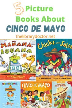 5 Books About Cinco de Mayo - The Library Doctor These books about Cinco de Mayo for kids are a wonderful introduction for your children and give them a better appreciation of Mexican culture and the holiday we all love to celebrate! African American Books, Enough Book, Child Life, School Holidays, S Pic, Childhood Education, So Little Time, Activities For Kids, My Books
