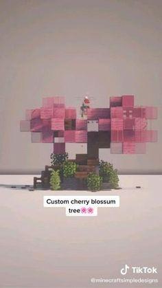 Minecraft Tree, Minecraft Structures, Minecraft Cottage, Cute Minecraft Houses, Minecraft Room, Minecraft Plans, Minecraft Decorations, Amazing Minecraft, Minecraft Blueprints