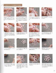 Tatting lace accessories