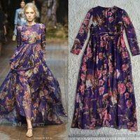 http://www.aliexpress.com/store/product/Free-Shipping-Holiday-Style-2014-Owl-Printed-Long-Sleeve-Chiffon-Silk-Long-Dress-140315D01/600416_1716236105.html  runway 2014 Silk printed long dress size S M L