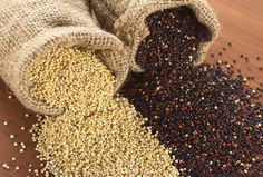 Quinoa – Try this high protein grain. Quinoa stands out among grains because it has more protein than most grains, about 8 grams per cup. Grains are great filling foods because they are loaded with fiber. Barley and bulgur are also great choices, with 31.2g and 25.6g of fiber per serving respectively. . . . The 10 Most Filling Healthy Foods That Heal & Help Weight Loss