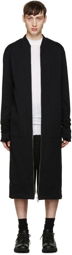 975$ Thamanyah - Manteau noir Long