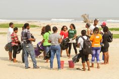 NIGERIA | Ibeno beach