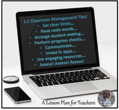 """Classroom management tips and ideas for the 1:1 digital middle or high school secondary classroom that will save you time and headache! """"Top Down"""" is one I will start using now!"""