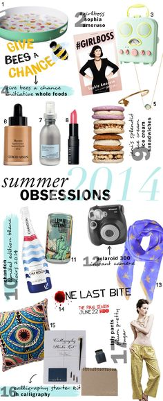 Summer Obsessions: Our Seasonal Favorites | theglitterguide.com