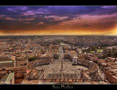 """San Pedro (St. Peter's Square)"" - Vatican City - Manolo Garcia - Featured Photographer"