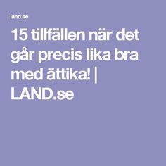 15 tillfällen när det går precis lika bra med ättika! | LAND.se