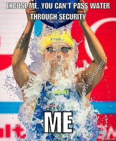 Don't keep my water bottle I'll drink it all fast Competitive Swimming, Synchronized Swimming, Swimmer Memes, Swim Quotes, Swimmer Problems, Keep Swimming, Swim Team, Swimmers, Eat Sleep