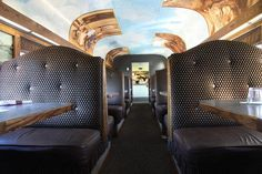 www.conwayscenic.com.  The interior of the Dining Car Hattie Evans on our Notch Train.