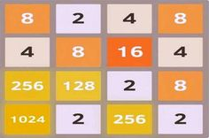 Logic puzzle in 2048, play the online