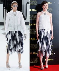 See the Best Celebrity Runway Remakes of 2015 - Daisy Ridley in Chanel  - from InStyle.com