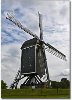 ˚Windmill in Brielle - The Netherlands