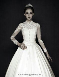 몽유애화보#웨딩드레스#웨딩화보#12월호#monguae dress#www.monguae.co.kr#청담동 웨딩숍