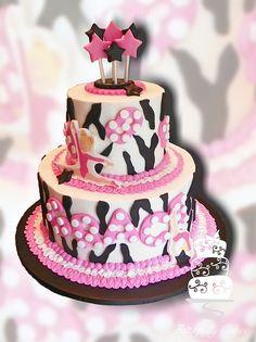 Gymnastics Tumbling 8th Birthday cake