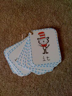 Cat and the Hat Sight Words and other printables