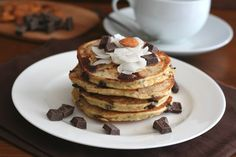 Almond Joy Pancakes are made with coconut flour to create a gluten free, low carb breakfast the entire family will love. Gluten Free Breakfasts, Gluten Free Recipes, Low Carb Recipes, Low Carb Breakfast, Healthy Breakfast Recipes, Pancake Recipes, Breakfast Options, Hardy Breakfast, School Breakfast