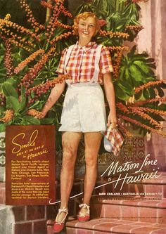 Matson liner travel ads reveal Hawaii's fascinating tourism history
