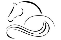 win-win-horse-rac& Get today& tips for Royal Ascot! Horse Drawings, Animal Drawings, Art Drawings, Horse Head, Horse Art, Horse Horse, Logo Caballo, Horse Outline, Horse Stencil