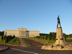 Stormont Carson - Ireland - Parliament Buildings, seat of the Northern Ireland Assembly
