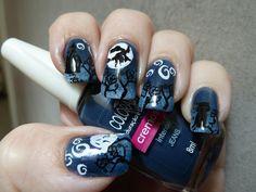Micropittura Halloween Nail art