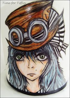 Steampunk girl by Time for Tiffin
