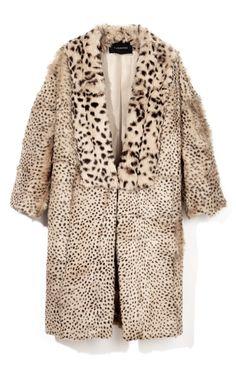 H O L Y  S ....  Leopard Car Coat by Thakoon - Moda Operandi
