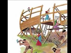 """Noah's Ark Video Noah's Ark - Disney Story - YouTube A reading of the Bible Story with music and songs! I like this one ... not your typical """"new energy"""" videos, but the messages are beautiful and reminds me of a simpler sweeter time with kids ministry when things were sweet and kind."""