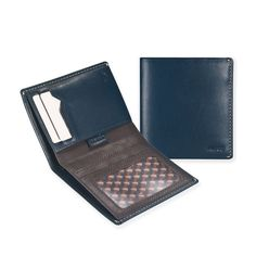 01 Slim Carry Wallet _ Navy Blue