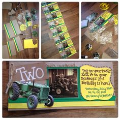 John Deere Party Perfect For The Big 4 At The Farm Boy Birthday Parties
