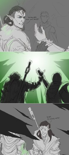Solas, just awesome, funny solas fanart