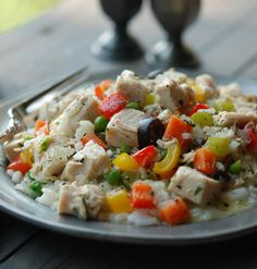 Turkey A La King: Creamy and sublime, Old World and rustic in the best farmhouse sense possible, this dish, served with a pot of long-grain Carolina rice, can't be beat. #recipe