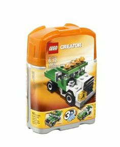 LEGO Mini Dumper 5865 by LEGO. $12.24. Its a 3 models in one set. Sturdy can makes storage easy. Set contains 60 pieces. Haul, race or go off-road. Build a mini dump truck, race car or off-roader. From the Manufacturer                Haul, race, or go off-road with this creative construction set.  Includes instructions to build one of three awesome mini-vehicles: a dump truck, a race car, and an off-roader. Comes in a portable and reusable can to let you take your truck...