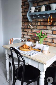 Kuchenna rewolucja Outdoor Furniture, Outdoor Decor, Shabby Chic, Decorating, Kitchen, Home Decor, Homes, Decor, Decoration