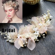 Bridal Comb, Bridal Headpieces, Bridal Hair, Dance Hairstyles, Wedding Hairstyles, Hair Jewelry, Bridal Jewelry, Wedding Headdress, Fascinator Headband