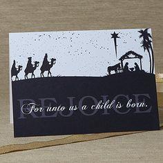 card saying